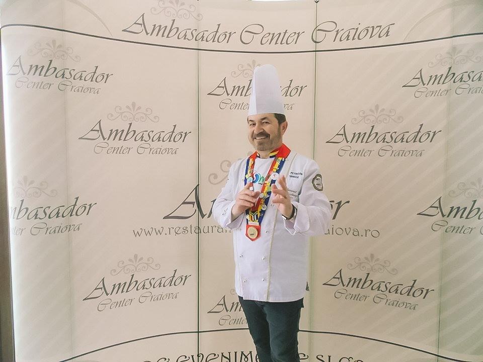 Maestrul Petrisor la Restaurantul Ambasador Craiova | Training in bucatarie