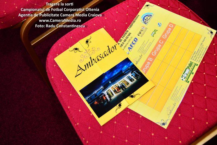 Galerie Foto Tragere la sorti Campionatul de Fotbal Corporatist Oltenia | Restaurant Nunta, Botez, Corporate, Evenimente Craiova