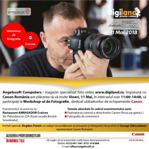 Cover WORKSHOP FOTOGRAFIE CRAIOVA