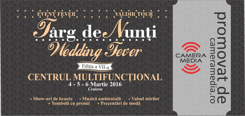 "Noutati Targ de Nunti ""Wedding Fever"" 2016"